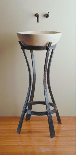 Iron Ribbon Pedestal