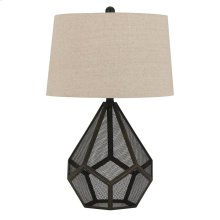150W Sapelo Metal Mesh Table Lamp