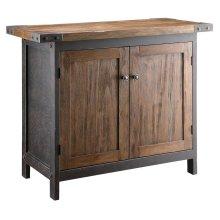 Wood Bridge Console Table