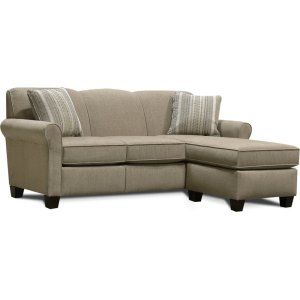 England FurnitureAngie Floating Ottoman Chaise 4635-25