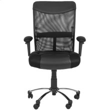 Bernard Desk Chair - Black