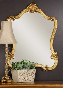 Walton Hall Gold Vanity Mirror