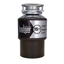 Badger 15SS Garbage Disposal, 3/4 HP