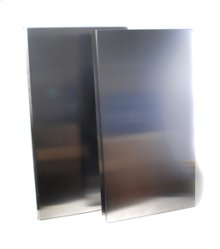 """19 11/16"""" to 39"""" Telescoping Backguard - for 36"""" Range or Cooktop"""
