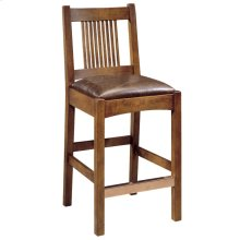 Counter Stool Seat Height 26, Oak Spindle Stool