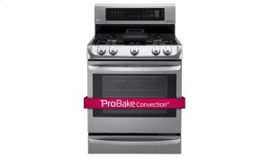 6.3 cu. ft. Gas Single Oven Range with ProBake Convection®, EasyClean® and Warming Drawer Product Image