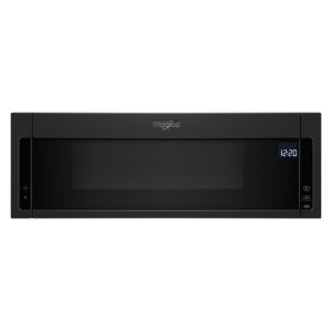1.1 cu. ft. Low Profile Microwave Hood Combination - BLACK