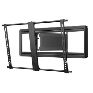 "SanusSuper Slim Full-Motion Mount For 40"" - 80"" flat-panel TVs up 125 lbs."