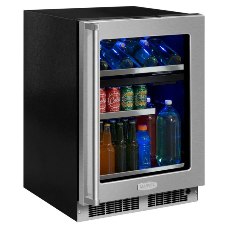Mp24wbg4rs in by marvel in delta co 24 wine and beverage center 24 wine and beverage center stainless frame glass door with lock integrated planetlyrics Image collections