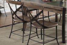 Side Chair Wood & Metal