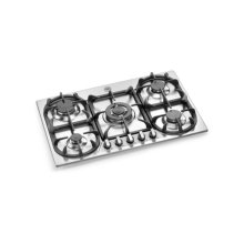 Stainless 34 5-Burner Cooktop