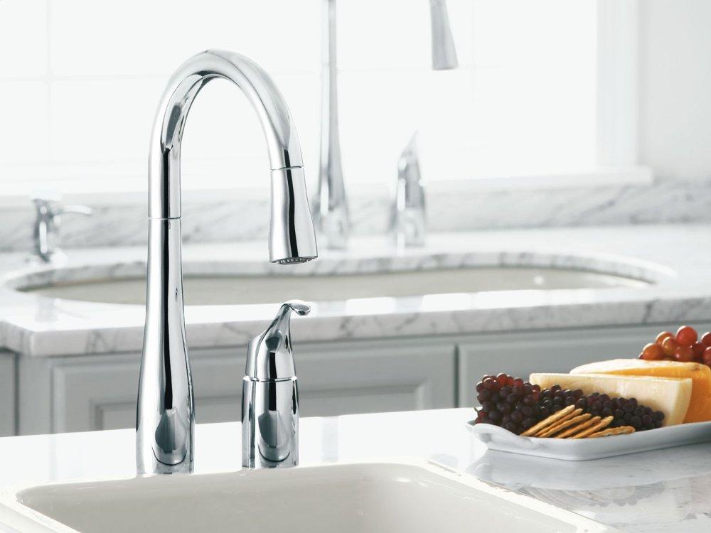 Kohler K649VS   Studio41   Vibrant Stainless Two-hole Kitchen Sink ...