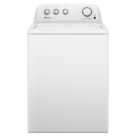 Amana® 3.5 cu. ft. Top-Load Washer with Automatic Fabric Softener Dispenser - White