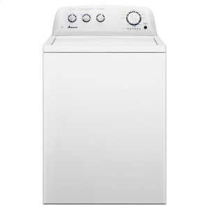 Amana® 3.5 cu. ft. Top-Load Washer with Automatic Fabric Softener Dispenser - White -