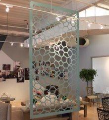 Hanging Room Divider, Honey
