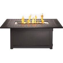 Kensington Rectangle Patioflame® Table , Bronze , Propane