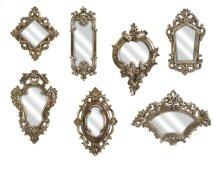 Loletta Victorian Inspired Mirrors - Set of 7