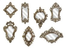 Loletta Victorian Inspired Mirrors - Set of 7