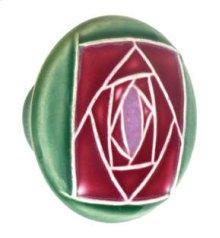 Large Round Ceramic Knob