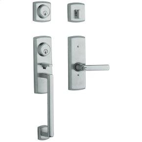 Polished Chrome Soho Two-Point Lock Handleset