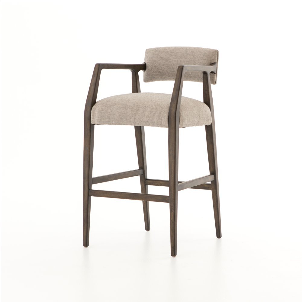 Bar Stool Size Ives White Grey Cover Tyler Bar + Counter Stool