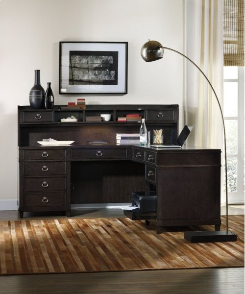Kendrick L Desk Hutch