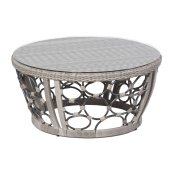 "Pebble Brook 38"" Round Coffee Table"