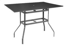 "42""x76"" Rectangular Balcony Table"