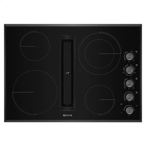 """JennAir® Euro-Style 30"""" JX3 Electric Downdraft Cooktop - Black Product Image"""