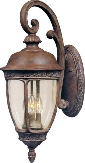 Knob Hill VX 3-Light Outdoor Wall Lantern