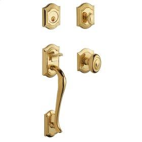 Lifetime Polished Brass Bethpage Sectional Trim