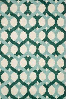 Blue / Green Rug