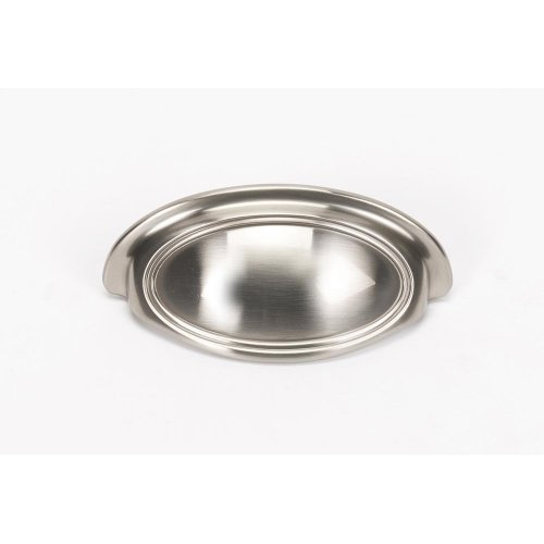 Classic Traditional Cup Pull A1570-3 - Satin Nickel