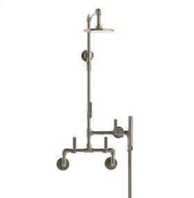 Exposed Wall Shower/ Hand Shower System