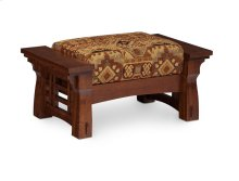 MaKayla Ottoman, Fabric Cushion Seat