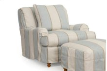 Sunset Trading Seacoast Slipcovered Chair - Color: 479541 - Sunset Trading