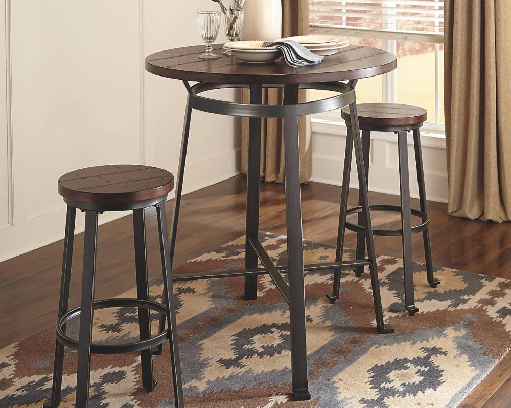 Hidden · Additional Round Dining Room Bar Table