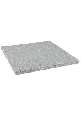 "36"" Square Matrix Table Top with Umbrella Hole"