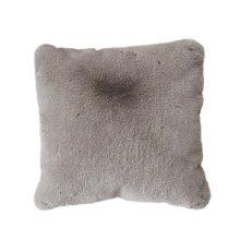 Chinchilla Faux pillow - Mocha Rug