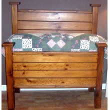 "#143-146 Headboard 48""h Footboard 30""h"