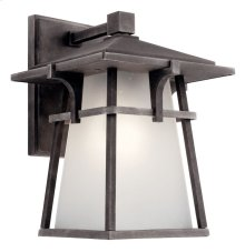 "Beckett 10.75"" 1 Light Wall Light Weathered Zinc"
