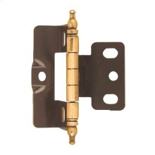 Non Self-closing, Full Wrap 3/4 In (19 Mm) Door Thick. Hinge