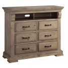 Media Chest - Natural Finish Product Image