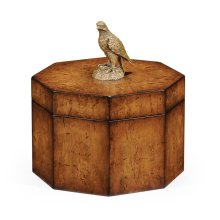 Octagonal Walnut Box