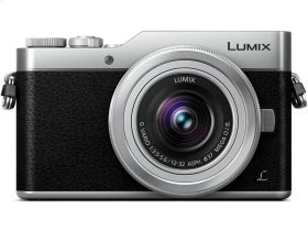 LUMIX GX850 4K Mirrorless ILC Camera, 12-32mm Mega O.I.S. lens kit, 16 Megapixels, 4K 30p Video, 4K PHOTO, WiFi - DMC-GX850KS - SILVER