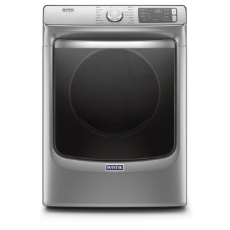 Maytag(R) Front Load Gas Dryer with Extra Power and Advanced Moisture Sensing with industry-exclusive extra moisture sensor - 7.3 cu. ft. - Metallic Slate