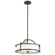 Emory Collection Emory 4 Light Chandelier/Semi Flush - OZ