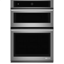 """Jenn-Air® 30"""" Microwave/Wall Oven with MultiMode® Convection System, Euro-Style Stainless Handle"""