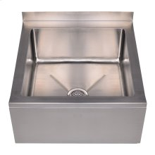 Noah's Collection Utility Series single bowl, floor mount mop sink.
