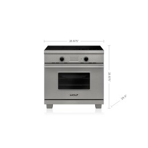 "36"" Transitional Induction Range"
